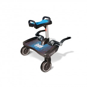 Lascal Buggy Board Maxi with Saddle Универсална Степенка за второ дете Макси със седалка - Син/Син 0