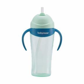 Babymoov Чаша със сламка, 8 м+ - синя
