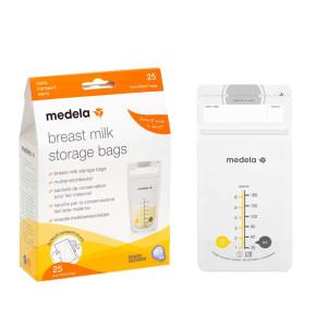 Medela пликчета за съхранение на кърма 25 бр. 8,0403 Breast Milk Storage Bags
