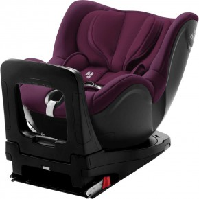 Britax Romer стол за кола Dualfix i-Size Burgundy Red