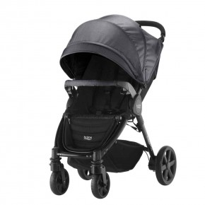 Britax B-Agile 4 Plus Black Denim