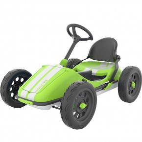 Chillafish Monzi Rs Go-Cart кола с педали - Зелена