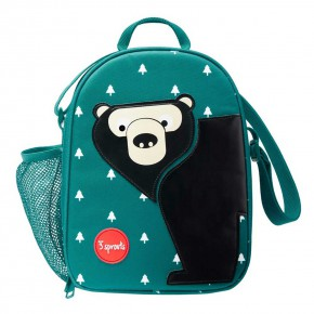 3 Sprouts Lunch Bag чанта за обяд-Bear