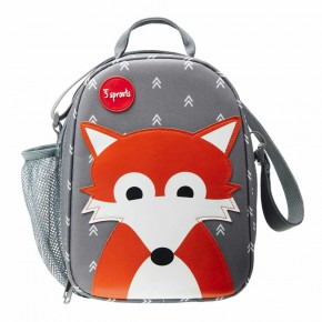 3 Sprouts Lunch Bag чанта за обяд-Fox