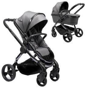 iCandy Peach 6 Phantom Dark Grey Twill бебешка количка