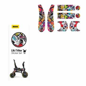 Doona™ BOMB комплект стикери за триколка Liki Trike