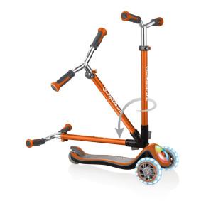 Globber Elite Prime тротинетка със светещи колела и палуба - Copper