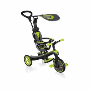 Globber Explorer Trike 4 в 1 триколка - Green