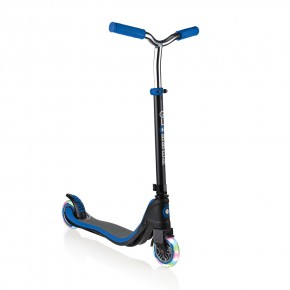 Globber FLOW 125 LIGHTS тротинетка със светещи колела - Blue