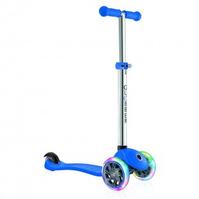 Globber Primo Lights тротинетка със светещи колела Navy Blue