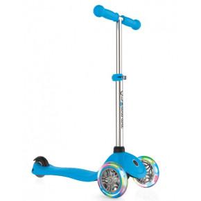 Globber Primo Lights тротинетка със светещи колела Sky Blue