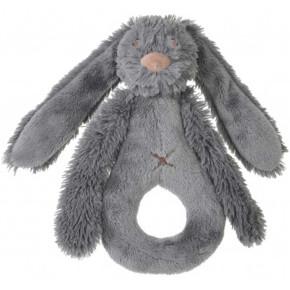 Happy Horse плюшена играчка зайчето Richie - дрънкалка 19 см