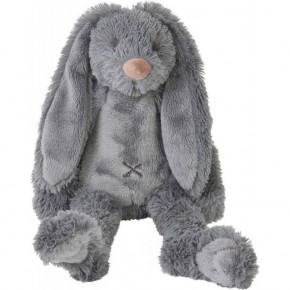 Happy Horse плюшена играчка Зайчето Richie 28 см - сиво