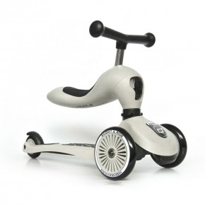 Scoot and Ride Тротинетка 2 в 1 Highwaykick 1 Ash
