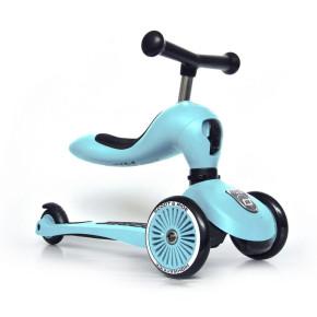 Scoot and Ride Тротинетка 2 в 1 Highwaykick 1 Blueberry