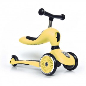 Scoot and Ride Тротинетка 2 в 1 Highwaykick 1 Lemon