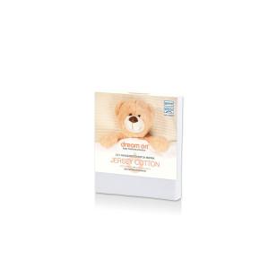Dream On Непромокаем протектор за бебешки матрак Jersey Cotton - 60/120 см