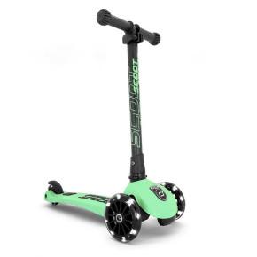 Scoot and Ride HIGHWAYKICK 3 LED сгъваема тротинетка със светещи колела - Kiwi