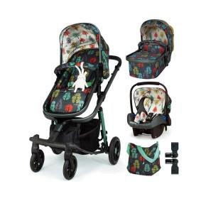 Cosatto Giggle Quad бебешка количка 3 в 1 - Hare Wood