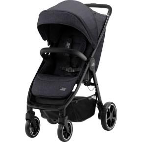 Britax B-Agile R детска количка - Black Shadow/Black