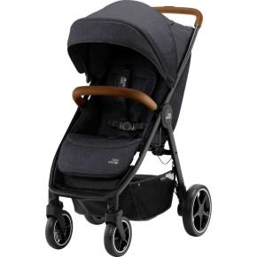 Britax B-Agile R детска количка - Black Shadow/Brown