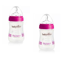 Babymoov комплект 2 бр. шишета 230 мл. Biotee