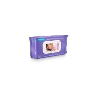Lansinoh Мокри кърпички за бебета с ланолин Clean'n Condition Cloths