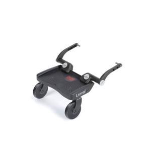 Lascal Mini Buggy Board Универсална Степенка за второ дете Мини - Червена