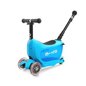 Micro Mini2go Deluxe Plus тротинетка - Blue