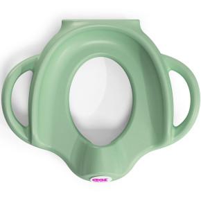 OK Baby ергономична седалка за тоалетна чиния - зелена