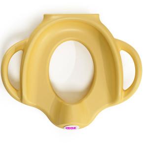 OK Baby ергономична седалка за тоалетна чиния - жълто