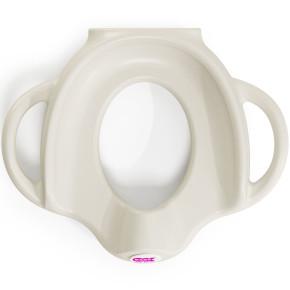 OK Baby ергономична седалка за тоалетна чиния - бяла
