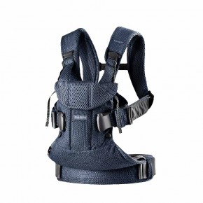 BabyBjörn Baby Carrier One Air ергономична раница - Navy Blue 3D Mesh