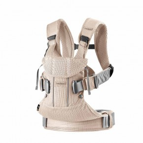 BabyBjörn Baby Carrier One Air ергономична раница - Pearly Pink 3D Mesh
