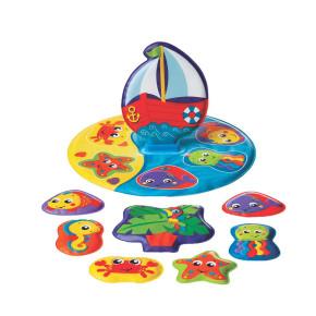 Playgro плаващ пъзел за баня Floaty Boat Path Puzzle