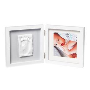 Baby Art My My Baby Style Essentials рамка с място за снимка и отпечатък (сиво паспарту)