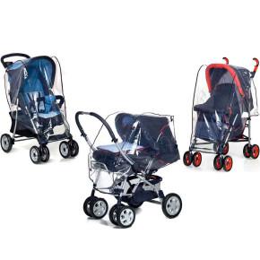 Универсален дъждобран за детска количка 3 в 1 Reer 72049