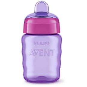 Philips AVENT Чаша за лесен преход без дръжки 9м+, 260мл, розова