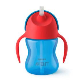бебешка чаша със сламка - Philips Avent Stral cup Bendy SCF796/01