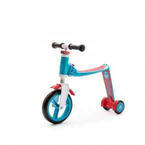 Scoot and Ride Тротинетка/колело за баланс 2 в 1 Highwaybaby Blue/Red