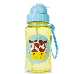 Skip Hop бутилка със сламка Bottle Straw 252315 жирафчето джулс