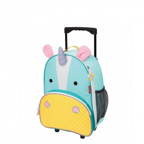 Skip Hop детска раница на колела Zoo Luggage еднорогът Юрика