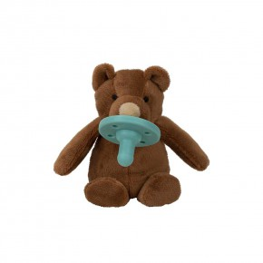 Minikoioi Sleep Buddy мека играчка със залъгалка - Brown Bear