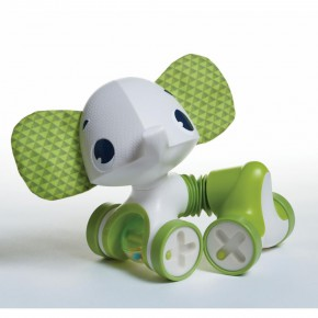 "Tiny Love Tiny Rolling Toy - Leonardo играчка ""Малки търкулчета"" - зелено слонче"