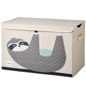 3 Sprouts Toy Chest кутия за играчки - Sloth