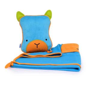 одеяло и възглавничка за път SnooziHedz Trunki Bert