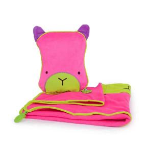 одеяло и възглавничка за път SnooziHedz Trunki Betsy