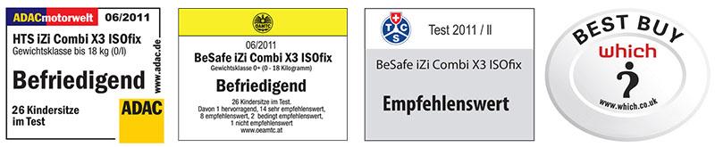 besafe izi combi x4 isofix award