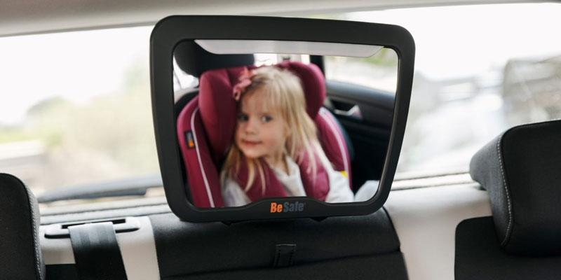 BeSafe Baby Mirror XL2 огледало за обратно виждане със светлини