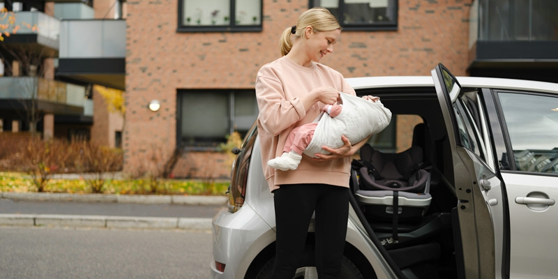 BeSafe iZi Transfer носилка за новородено